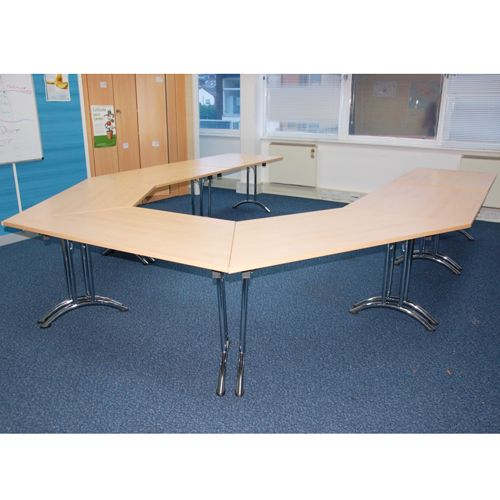 U Shaped Training Room Set Tables Fold Away Conference Tables - Fold away conference table